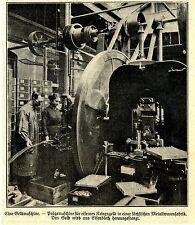 Geldmaschine - für eisernes Kriegsgeld in Sachsen Historische Aufnahme von 1918