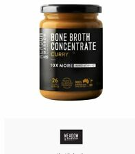 2 x 260g MEADOW & MALLOW Bone Broth Concentrate Curry
