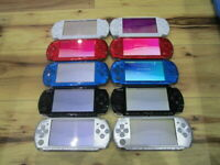 Sony PSP 3000 Lot of 10 Console Silver Red Blue White Black Japan m859