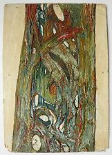 Bello Piccolo Olio Vintage Composizione astratta astrattismo c.1950 #4 Quadro
