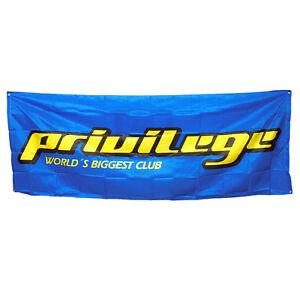 Privilege Ibiza Outdoor Banner Large Logo Fence Advertising Flag Nigh Club decor