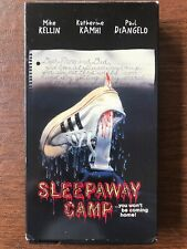 Sleepaway Camp (VHS 1983) Anchor Bay Mike Kellin Katherine Kamhi Horror Movie