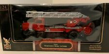 New In Box 1:24 Scale Road Signature 1944 Mercedes Benz L4500F Fire Truck