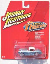 JOHNNY LIGHTNING CHEVY THUNDER 1957 CHEVY CORVETTE #28 RUBBER TIRES