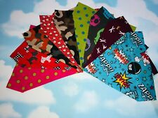Handmade Dog / Cat Animal Collar Bandana neckerchief & Collar - Dogs Trust