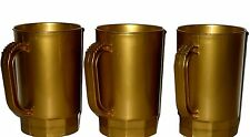 75 Pearl Gold Beer Mugs, Wholesale Lot, Made in America, Lead Free No BPA
