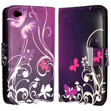Patterned Synthetic Leather Wallet Cases for Samsung Mobile Phones