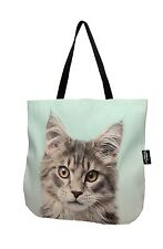 3D bag animal Cute & Unique Gift with MAINE COON MACKEREL TABBY Handmade!
