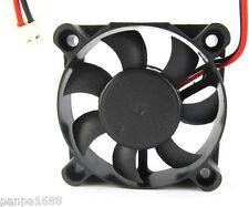 50 un. DC Brushless Ventilador de refrigeración 50x50x10mm 5010 hojas de 7 12V 2pin 2.54 Conector