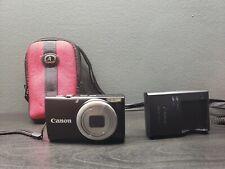 Canon PowerShot A4000 IS 16.0MP Digital Camera - Black