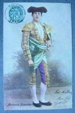 CPA - ANTONIO FUENTES TOREADOR  1904  Réf A/238/01