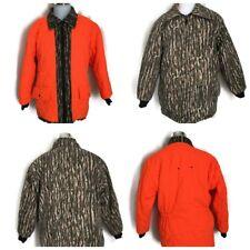 Vintage MOUNT'N PRAIRIE Reversible Camo Hunting Jacket Insulated Ski Snow Coat M