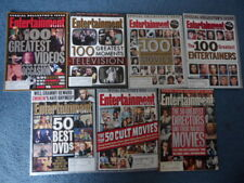Entertainment Weekly Lot of 7 Highly Collectible: 100 Greatest ...50 Greatest...