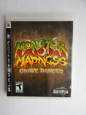 Monster Madness: Grave Danger Game in Case! PlayStation 3 PS3