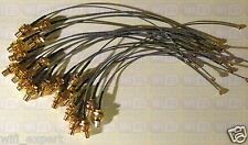 100 X Mini PCI U.FL IPX to RP-SMA Antenna WiFi Pigtail Cable Any Size 4-20 inch