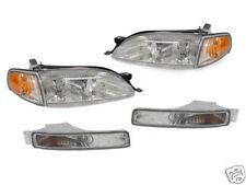 6PCS DEPO Clear Headlights + Corner + Bumper Lights For 1995-1996 Toyota Camry