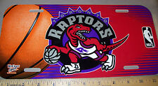 Toronto Raptors NBA basketball team Plastic License Plate, made in the USA