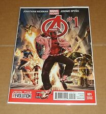 Avengers #1 Deadpool Gangnam Style Variant Edition 1st Print Marvel Now