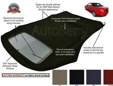 Audi A4 S4 Convertible Soft Top With Defroster Glass Window HAARTZ CLOTH