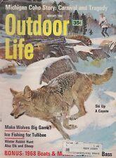 JAN 1968 OUTDOOR LIFE vintage hunting & fishing magazine