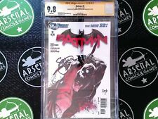 BATMAN #3 2012 CGC 9.8 NM/M Signed by Snyder and Capullo DC Comics Dark Knight