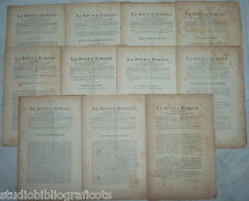 Cugnoni Castagnola LA SCUOLA ROMANA Foglio Periodico di Letteratura e Arte 1884