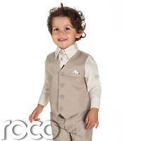Boys Beige Suit, Page Boy Suits, Baby Boys Suits, Kids Suits, Boys Suits