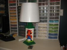 LEGO MARIO AND LUIGI LAMP WITH REMOTE LED LIGHT