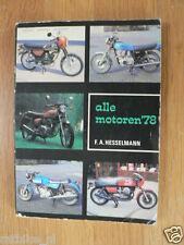 707 ALL MOTORCYCLE MODELS 1978 DUCATI 900SS,JUPITER,VOSHKOD,VAN VEEN OCR1000,