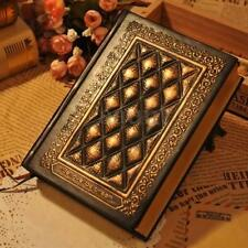 Retro Vintage Journal Diary Notebook Blank Hard Leather Cover Sketchbook Paper