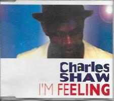 CHARLES SHAW - I'm feeling CDM 3TR Euro House 1994 (MEGA Records) Sweden