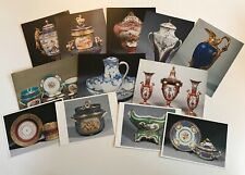 More details for 12 x royal collection postcards serves porcelain