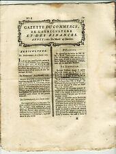 1767, jan.27, GAZETTE DU COMMERCE, America, Quebec, Charles-Town, Louisiana
