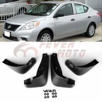 Car Fender Mudguard Flaps Splash Set Fit Nissan Versa Sedan 2012 2013 2014 FM