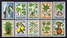 Cape Verde scott#345-354 (1968) Local Subjects full set OG MNH**