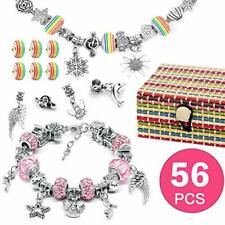 AivaToba Jewellery Making Kit for Girls, DIY Charm Bracelet Making Sets with