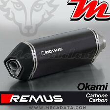 Silencieux Pot échappement Remus Okami carbone Suzuki SV 650 - 2017