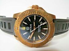 Deep Blue Daynight Bronze T100 Tritium Automatic Dive Watch Black 45mm
