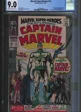 Marvel Super Heroes # 12 Cgc 9.0 Cream to Off White Pages. UnRestored.
