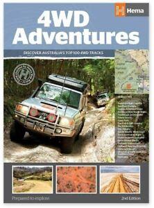 Hema 4WD Adventures Atlas Australia - A4 Spiral Bound - Edition 2