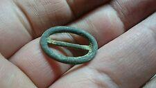 Lovely little bronze Medieval buckle L188