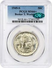 1949-S BTW 50c PCGS/CAC MS66+ - Low Mintage Issue  - Low Mintage Issue