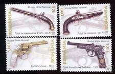 ROMANIA 2008 OLD FIRE ARMS SC # 5019-5022 MNH