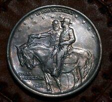 1925 Stone Mountain Commemorative Half Dollar Silver 50c Coin Civil War Memorial