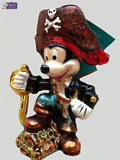 Christopher Radko Ornament Disney Pirate Mickey 3011772. Very Rare.