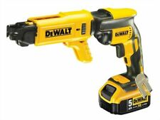 DEWALT DCF620P2K 18V Collated Drywall Screwdriver 2 x 5Ah Batteries Charger Case