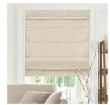 🎆Assorted Size🎆 Chicology Belgian Flax Cordless Light Filtering Roman Shades