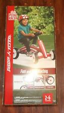 New Adjustable Radio Flyer Pedal Racer, Model #687