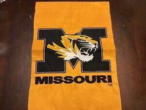 "University of Missouri NCAA Garden Flag 18""x12.5"" Brand New Missouri Tigers"