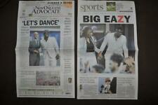 Zion Williamson Pelicans No. 1 Draft New Orleans Advocate Newspaper 6/21/19